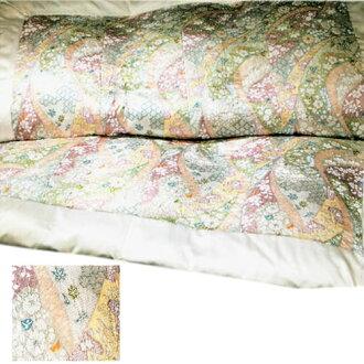 京都議定書 Nishikawa 鴨絨被子蠶絲被做在日本 SL • 一般 1000年京都友禪羽絨被被子裡單下來長尺寸 150 x 210 釐米