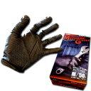 手袋 ゴム手袋 作業用 メカニックグローブ No.1100 左右兼用 50枚入り エステー モデルローブ 薄手 二トリルゴム手袋 M L LLサイズ 黒