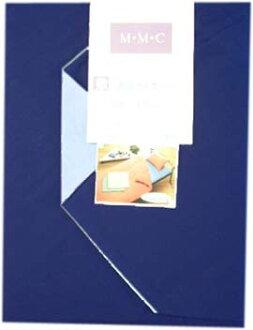 雙墊被覆蓋物素色☆鋪設覆蓋物青藍色日本製造優質