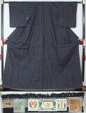 【特選】未使用美品 重要無形文化財 本場結城紬 80亀甲 裂取亀甲模様 正絹 紬 着物  送料無料【リサイクル着物 着物 中古 帯 きもの 正絹 kimono 中古品 リサイクル帯 着物セット アンティーク着物 着物買い取り 着物買取 きもの天陽 きものてんよう】