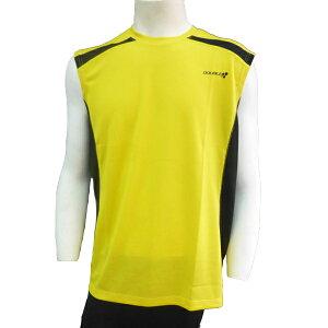 【DOUBLE3(ダブルスリー/ダブル3)】メンズ(Men's)DW-3290ランニングに最適!スリーブレスシャツ/ライトブルー/ライトグリーン/イエロー/ピンク(DW3290)