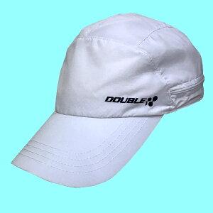【DOUBLE3(ダブルスリー/ダブル3)】DW6100日よけカバー付き(収納可)キャップUV吸汗速乾男女兼用(DW-6100)