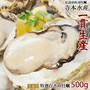 [11月下旬]広島産 生牡蠣 むき身 500g発泡箱 特選老