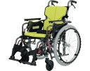 自走・介助兼用 アルミ製車いす KA822-45B-M 中床タイプ スイングイン・アウト式 カワムラサイクル 【RCP】【SMTB-KD】【送料無料】【簡易モジュール車いす 車椅子 介護用品】