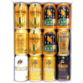 【数量限定ギフトセット】【送料無料】 大人気プレミアム地ビール飲み比べギフト12本セットよなよなエール×燦燦オーガニック