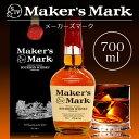 唯一無二のハンドメイド バーボン・ウイスキー メーカーズマーク 45度 700ml YMMGA ウィスキー【正規品・箱付】【あす楽対応】【敬老の日 ギフト お中元 暑中見舞い 残暑見舞い】