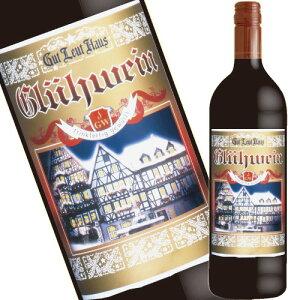 ドイツ ホットワイン甘口【 赤 】グートロイトハウス グリューワイン 1本 Glühwein Mulled wine Hot wine 、あす楽対応