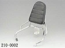 キジマ(KIJIMA) 210-0002 バックレスト アドレスV125 / アドレスV125G(-K9)用 メッキ ※背パ...