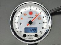 ACEWELL(エースウェル)多機能デジタルメーター15000RPM(ホワイトパネル)CA085-652-W