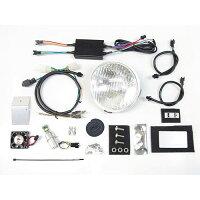 プロテックLBH-H01スーパーカブ110['18〜JA44]/スーパーカブ50['18〜AA09]用LEDクラシカルヘッドライトkit6000K63005-60
