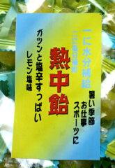 手づくり飴『地釜本造り』 熱中飴 業務用1kg(塩飴) 一粒に塩分300mg超【HO‐3】■井…
