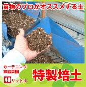 こだわり抜いたプロお勧めの特製培土