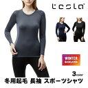 [TESLA] テスラ スポーツシャツ レディース 冬用起毛