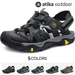 ATIKA アティカ メンズ スポーツサンダル アウトドア サンダル 男性用 ユニセックス TESLA CAIRO/ROCKY M142