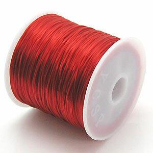 1-ru-1彩色鬆緊帶紅色聚脂製造尺寸(大約0.8mmX70m鬆緊帶鬆緊帶橡膠編碼)