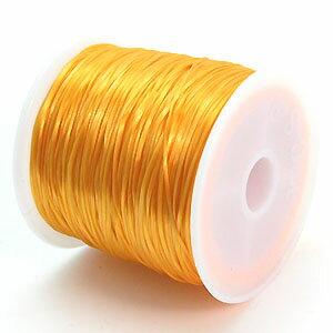11-ru-1彩色鬆緊帶橘子色聚脂製造尺寸(大約0.8mmX70m)1個鬆緊帶鬆緊帶橡膠編碼