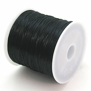 19-ru-1彩色鬆緊帶黑色聚脂製造尺寸(大約0.8mmX70m)1個鬆緊帶鬆緊帶橡膠編碼