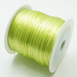2-ru-1彩色鬆緊帶淺綠色聚脂製造尺寸(大約0.8mmX70m鬆緊帶鬆緊帶橡膠編碼)