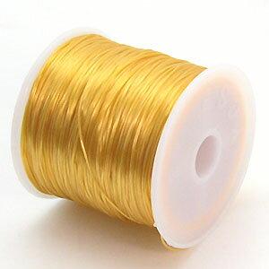 20-ru-1彩色鬆緊帶布丁黄色色聚脂製造尺寸(大約0.8mmX70m)1個鬆緊帶鬆緊帶橡膠編碼