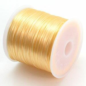 23-ru-1彩色鬆緊帶象牙色聚脂製造尺寸(大約0.8mmX70m)1個鬆緊帶鬆緊帶橡膠編碼
