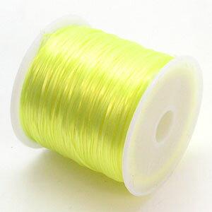 5-ru-1彩色鬆緊帶檸檬黄色聚脂製造尺寸(大約0.8mmX70m鬆緊帶鬆緊帶橡膠編碼)