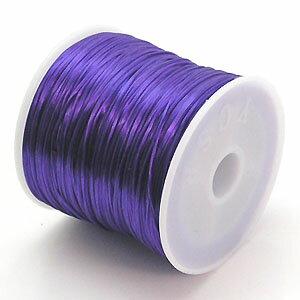 6-ru-1彩色鬆緊帶三色堇色聚脂製造尺寸(大約0.8mmX70m鬆緊帶鬆緊帶橡膠編碼)