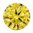 【3個】カラーダイヤモンド 【ラウンドカット】 ルース カナディイエロー 1.4mm 天然石 アクセサリー diac-cdy-14