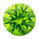 カラーダイヤモンド 【ラウンドカット】 ルース ペリドットグリーン 2.8mm 天然石 アクセサリー diac-prg-28