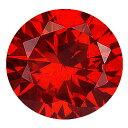 【3個】カラーダイヤモンド 【ラウンドカット】 ルース レッドコニャック 1.2mm 天然石 アクセサリー diac-rdc-12