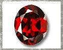 ガーネット 【オーバルカット】 約6x8mm ルース 1個 裸石 天然石
