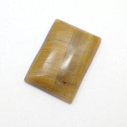 タイガーアイ 【レクタングルカボション 1点ものルース】 約28x20x6mm ルース 天然石 原石 裸石