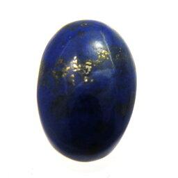 ラピスラズリ 【ルース 1点】 オーバルカボション 約10x15.5mm 天然石