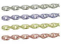 sc-n-31-60-3シルバーチェーンルーズロープチェーン完成品(ネックレス)サイズ(幅約:3.1mm長さ:60cm)3本シルバー925無垢