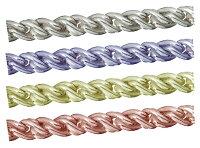 sc-nt-13-40-10シルバーチェーンルーズロープツイストチェーン完成品(ネックレス)サイズ(幅約:1.3mm長さ:40cm)10本シルバー925無垢