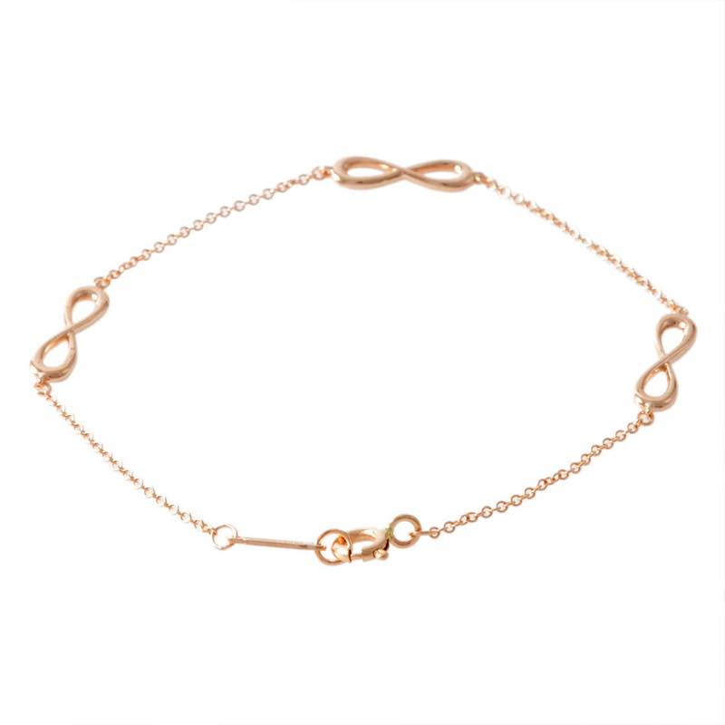 ティファニー Tiffany & Co. / インフィニティ エンドレス スモール (18KRG) 16.5cm ブレスレット #35309764