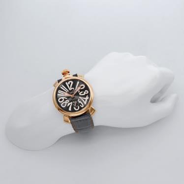 ガガミラノ GAGA MILANO / 腕時計 #501107S-GRY