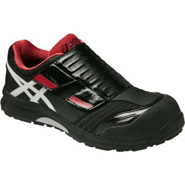 アシックス(asics)作業靴安全靴ウィンジョブFCP101(9001ブラック×ホワイト、0490イエロー×ブラック)