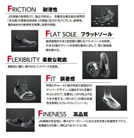 【送料無料】シモン安全靴シモンライトSL11-R(黒/赤)