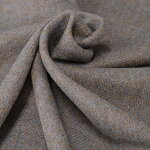 【日本製】英国羊毛総柄ヘリンボーンベージュ