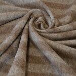【日本製】ウール100%スパニッシュ羊毛混細ボーダー