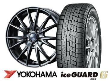 ヨコハマ ice GUARD 6 iG60 215/60R16VELVA SPORT 16インチSET