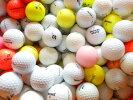 【送料無料】自宅練習用激安ゴルフボール100球ロストボール中古