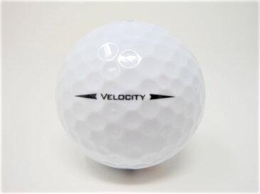 【中古】タイトリスト VELOCITY ベロシティー 2018年モデル ロストボール 特Aランク ゴルフボール