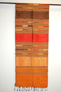 最高級シルクで織り成された色彩美の世界!ラオス織物