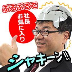 【16時締切翌日出荷※祝前日を除く】USBぶるぶるヘルメット BRNRL3KB ※入荷しました!
