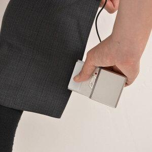 ズボンの裾やネクタイ、スカートの折り目など、気になるところにササッとアイロンがけができる...