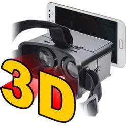自分のスマートフォンをヘッドマウントディスプレイとして装着すれば3D体験できる!スマホDEヴ...