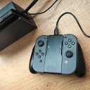 Nintendo Switch用Joy-Con充電握りやすいグリップ NTDSWJCG 【16時締切翌日出荷※祝前日・休業日前日を除く】 - サンコーレアモノショップ