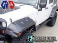 ジープラングラーJK4ドア用JeepWRANGLERJKチューブサイドステップテクスチャードブラックP/#LUX-JK-S01【GIG/ジーアイギア】