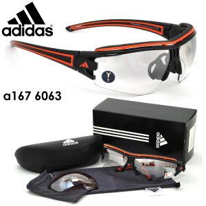 【アディダススポーツサングラス】adidas(アディダス)a167evileyehalfrimproL6063【あす楽対応】【到着後レビューで送料無料&賞金GETのチャンス】